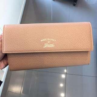 Gucci swing long purse