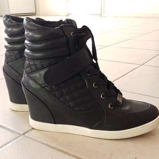 Forever New Wedge Sneakers
