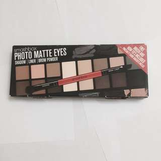 BNIB smashbox photo matte eyes eyeshadow palette authentic