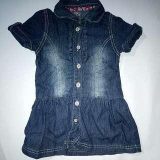 Denim Dress Zara Kids