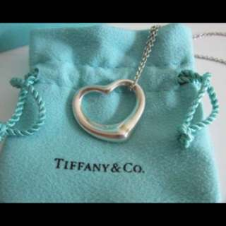 Elsa Peretti Open Heart pendant from Tiffany and co.