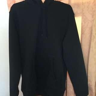 H&M Basic Black Hoodie