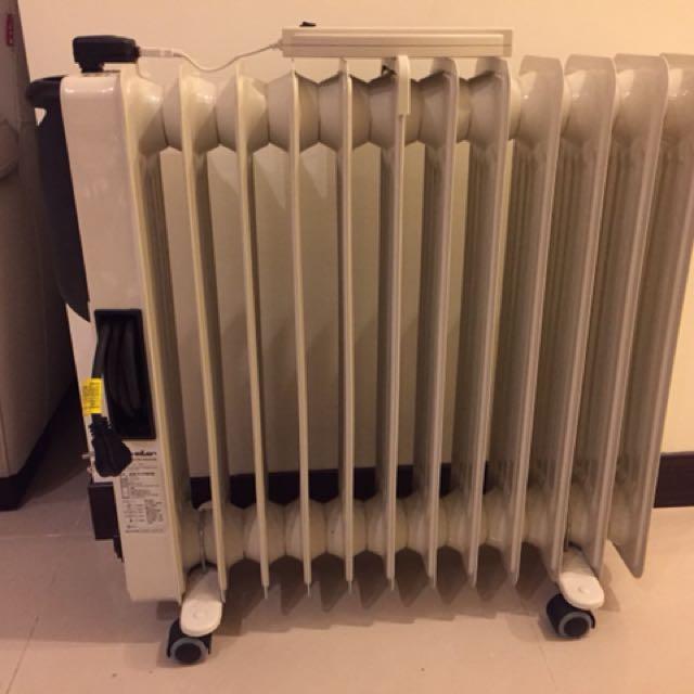 德國嘉儀12葉扇電暖爐KED512T