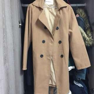🚚 卡其大衣外套