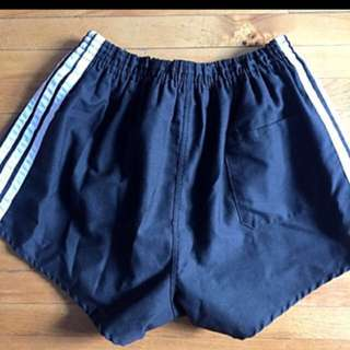 Vintage high waisted adidas shorts