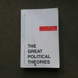 The Great Political Theories by Michael Curtis