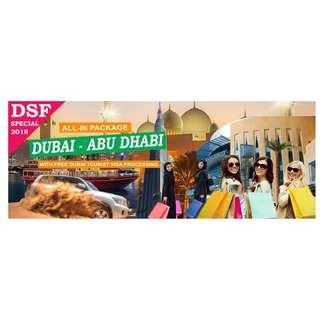 DUBAI - ABU DHABI with AIRFARE