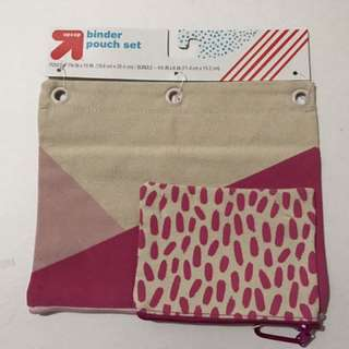 Binder Pouch Set