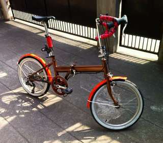 Customized folding bike