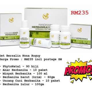 SET BERSALIN NONA ROGUY NR