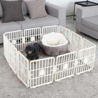 Pet Zone Smart Fence Playpen - Ivory