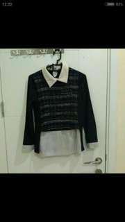 h&m blouse,  kemeja, atasan H&M