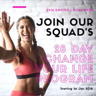 Fitness Program: 28 Days Change Your Life