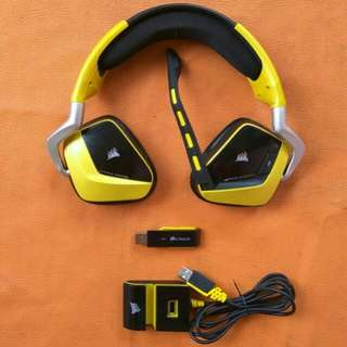 Headset Corsair Void Pro RGB Yellow Special Edition