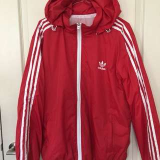 Adidas Track Suit Jacket Red Size L