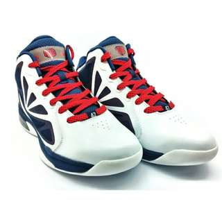 361 Degrees Kevin Love Basketball Shoes (White/Red)