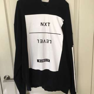 Oversized Fit Hoodie Size M