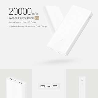 🚚 [NEW] Xiaomi Power Bank 2C 20000mAh