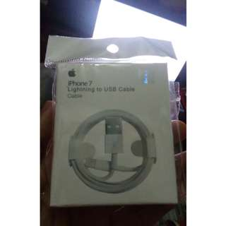 Iphone 7 Lightning to USB cable ori 100% kabel data