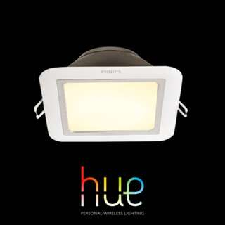[PREORDER] Philips Hue White ambiance ROUND/SQUARE Downlight