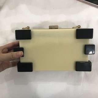 Acrylic party clutch bag