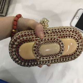New party clutch bag