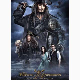 DVD Pirates and the Caribbean Dead Men Tell No Tales DISNEY