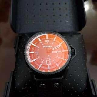 Diesel Rollcage Black Dial Men's Watch