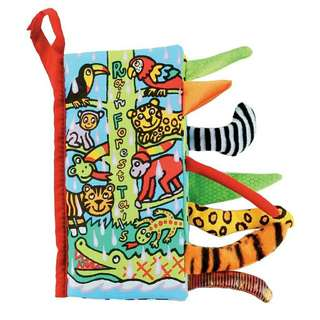 Educational Cloth Book - Rain Forest Animal Tail