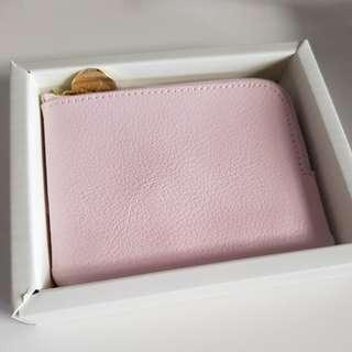 Kikki.k pink coin purse