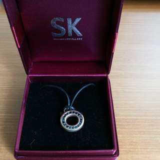 SK Necklace Stainless Steel