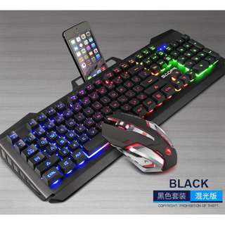 (Free XL mousepad) SADES Blademail V2 Gaming Keyboard + Mouse