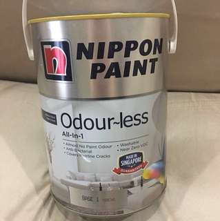 Brand New Nippon Paint 5 litre Light pink