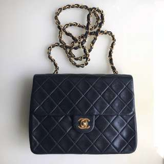 Chanel Vintage Mini Flap Bag 20cm