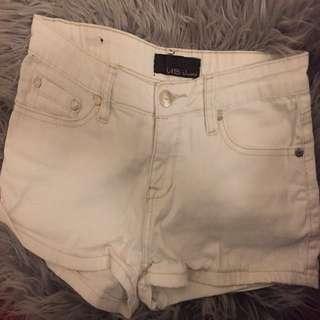 White shorts size small/xs