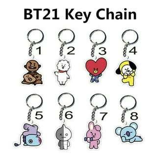 BT21 Keychain