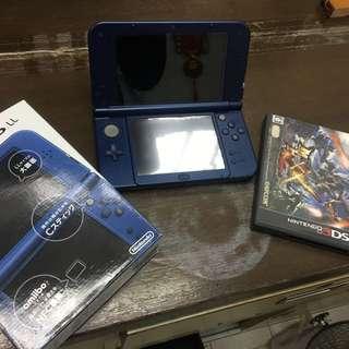 3DS 9成新連MHXX一隻