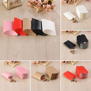 Pillow box for wedding or party favor