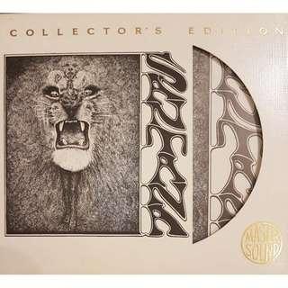 24K Gold CD Sony SBM Santana