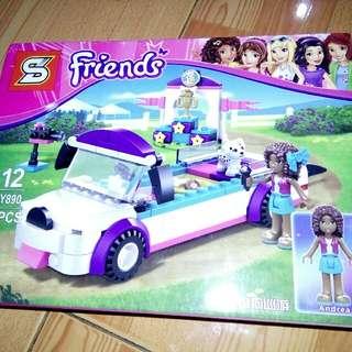 Sale: Big friends blocks