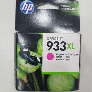 全新HP 933XL加大版 原廠 洋紅色 墨盒