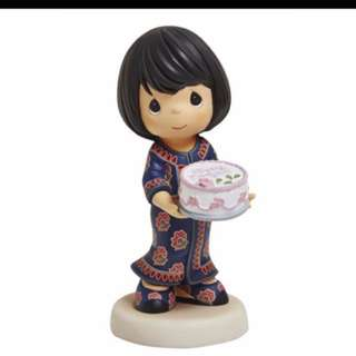 $75 nett precious Moments Figurine Singapore Airlines 70th anniversary