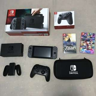 Nintendo Switch Console + gifts