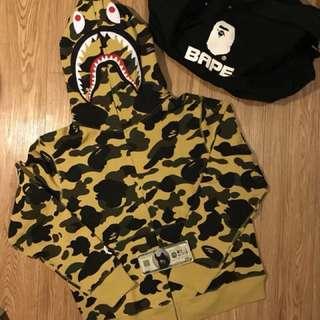 BAPE 1st camo sweater