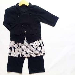 Batik Attire for Boys