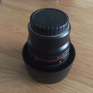 [AS NEW] Rokinon 85mm f1.4 MFT Micro Four Thirds Lens