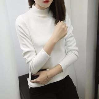 Petite white jumper size S 6-8