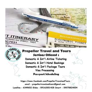 Propeller Travel and Tours