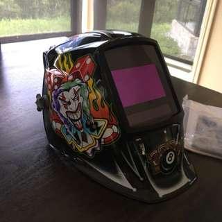 Miller auto welding helmet
