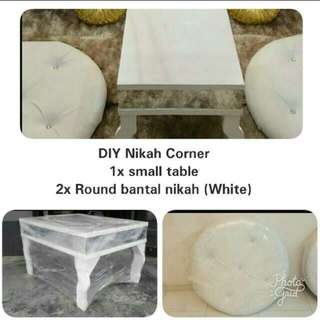 Bantal Meja Nikah / Wedding Cushion